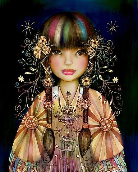 Rainbow Princess by © Karin Taylor
