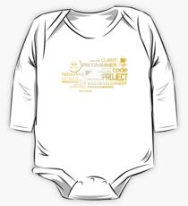 Typography Programming Kids Clothes