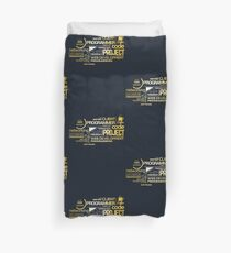 Typography Programming Duvet Cover