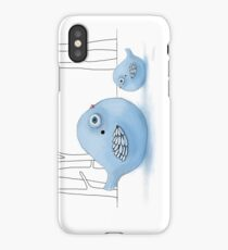 Blue Birds of Happiness iPhone Case