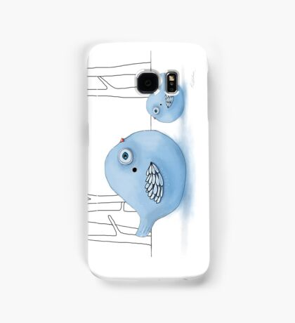 Blue Birds of Happiness Samsung Galaxy Case/Skin