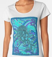 SCI - String Cheese Incident - Psychedelic Jellyfish Jelly Fish Ocean of My Brain To Much Tequila Women's Premium T-Shirt