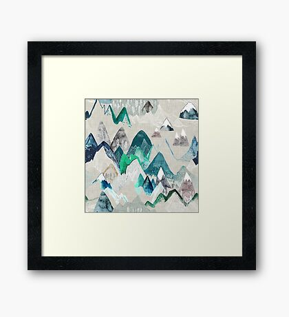 Call of the Mountains Framed Print