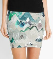 Call of the Mountains (in evergreen)  Mini Skirt
