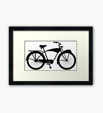 Cruiser bicycle Framed Print
