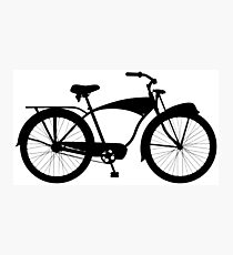 Cruiser bicycle Photographic Print