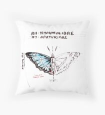 Kingsman The Golden Circle - 'Lepidoptery'  Throw Pillow
