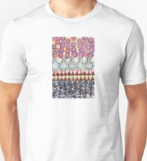 Garden with Silver Flowers and Flower Bulbs T-Shirt