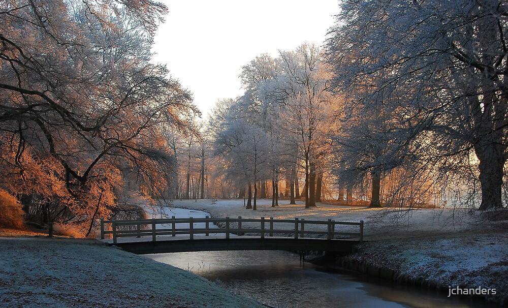 Dawn in Hoarfrost Wonderland by jchanders