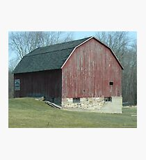 Farmstead Barn Photographic Print