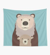 Baby Bear Wall Tapestry