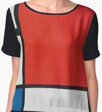 Piet Mondrian Women's Chiffon Top