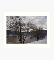 lake gregory Art Print