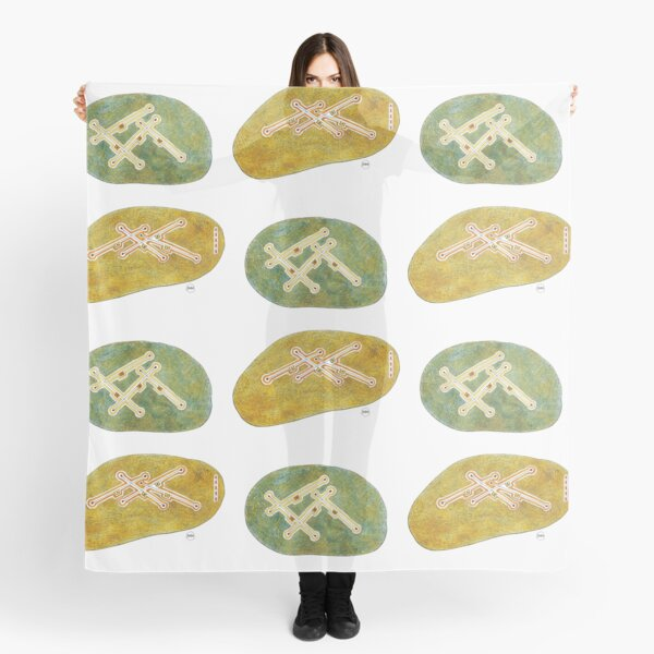 Jazz Drawings, Are You Real -Take01 Scarf