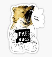 Bear Hug Sticker