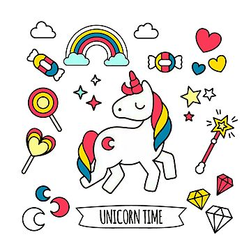 Unicorn Time by prunellaauger