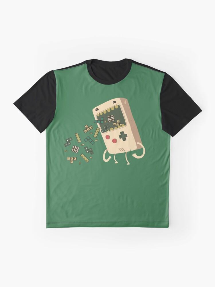 Alternate view of Pixel Puke Graphic T-Shirt