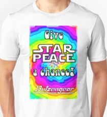 Give Star Peace A Chance! Unisex T-Shirt