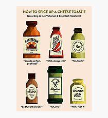 SKAM Cheese Toastie Photographic Print