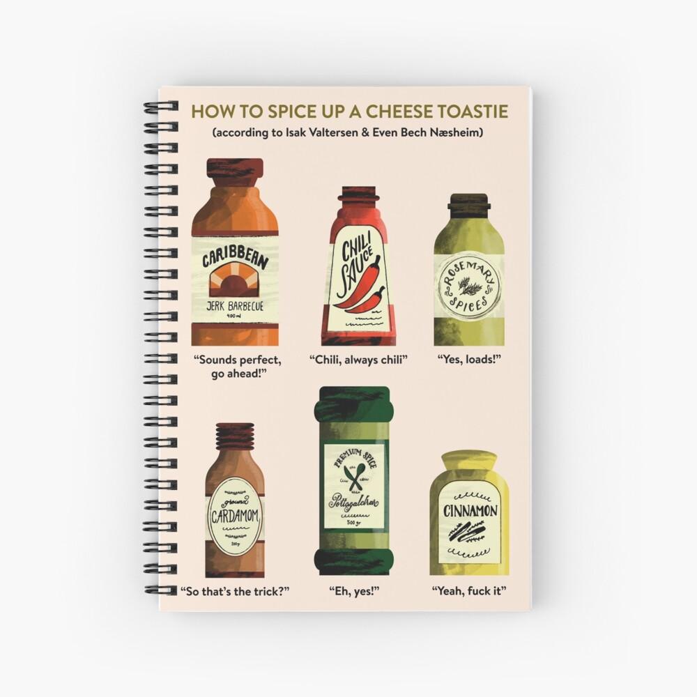 SKAM Cheese Toastie Spiral Notebook