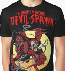 The Mouth Mercing Devil-Spawn Graphic T-Shirt