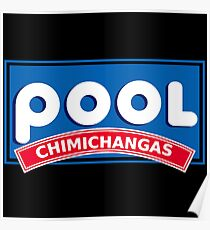 International House Of Chimichangas Poster