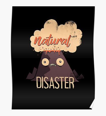 Natural Disaster Poster