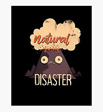 Natural Disaster Photographic Print