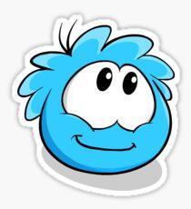 Blue Puffle Sticker
