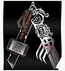 Asgardian Pride (Blood) Poster