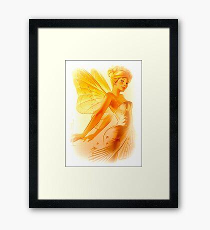 Blonde Fairy Framed Print