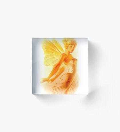 Blonde Fairy Acrylic Block