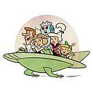 Die Jetsons, Retro Vintage von RainbowRetro