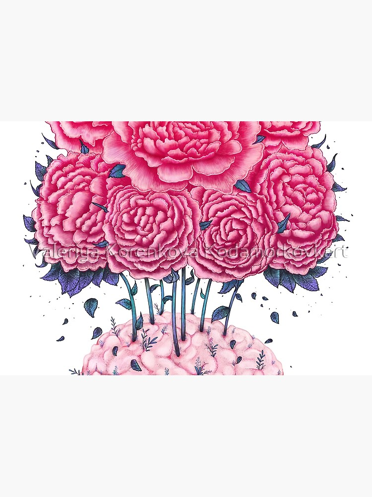 Creative Brains with peonies  von kodamorkovkart