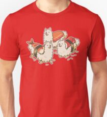 Alpaca Sushi Niguiri Unisex T-Shirt