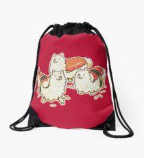 Alpaca Sushi Niguiri Drawstring Bag