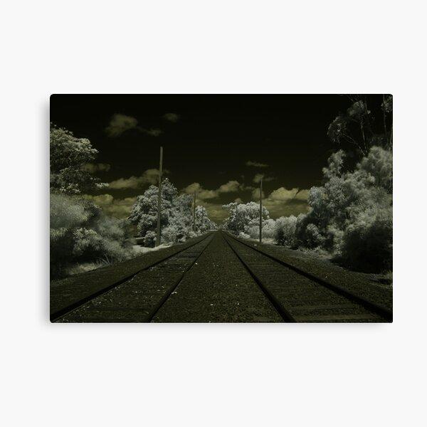 Track Canvas Print
