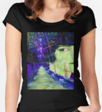 Surreal Dream Park Women's Fitted Scoop T-Shirt