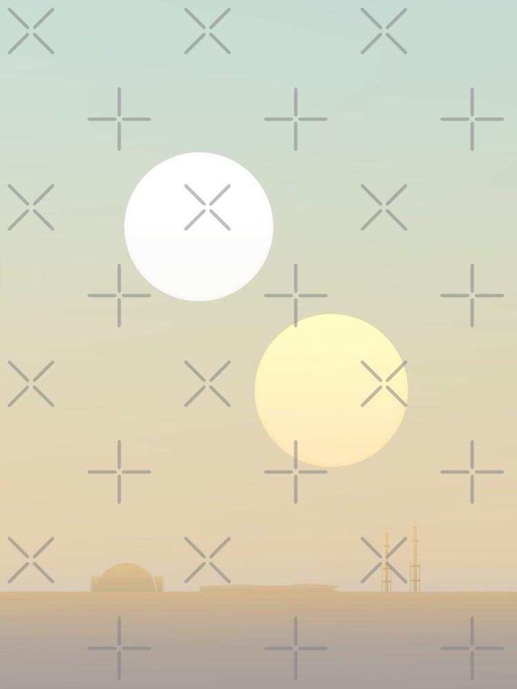 zwei Sonnen von halfabubble