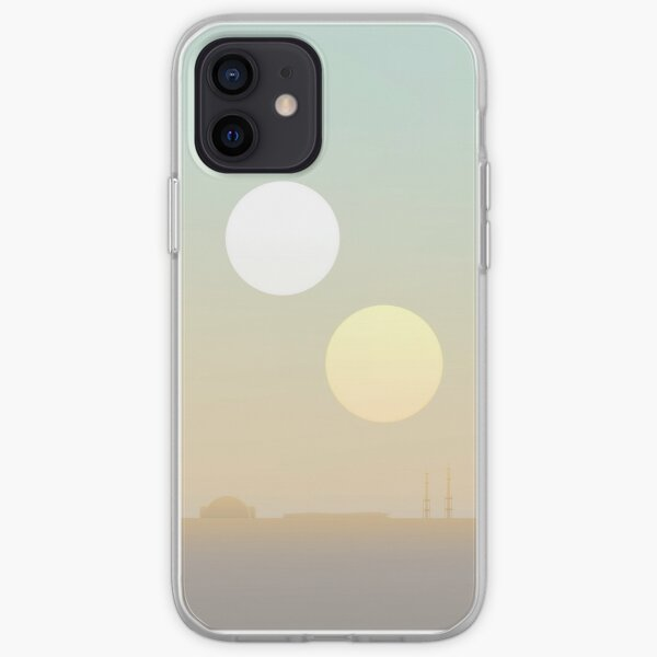 two suns iPhone Soft Case