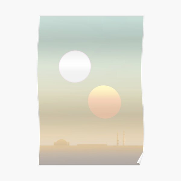 two suns Poster