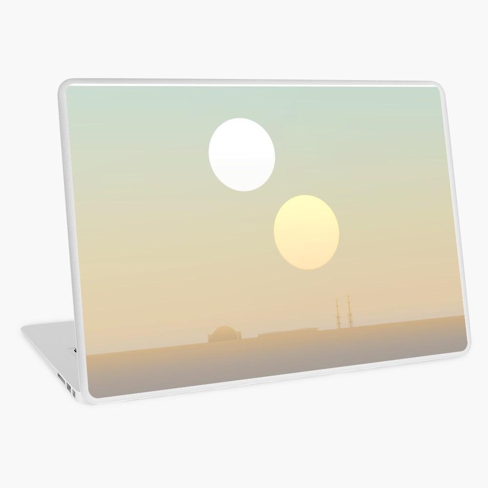 two suns Laptop Skin