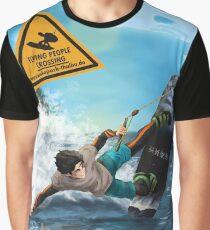 Wakeboarder Spray Graphic T-Shirt
