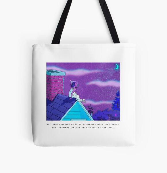 Teisha All Over Print Tote Bag