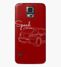 MazdaSpeed 3 Outline - Speed Artwork Case/Skin for Samsung Galaxy