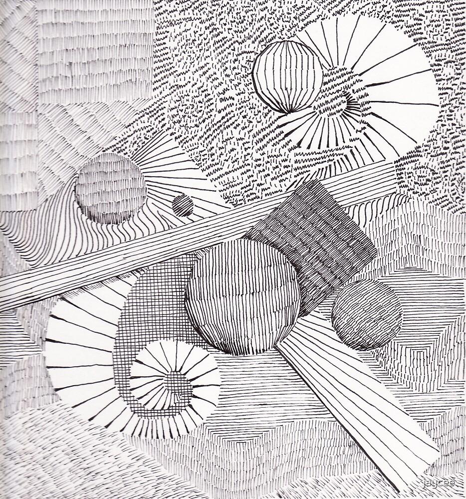 Ink landscape by jaycee