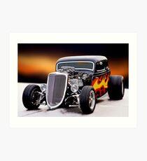 1934 Ford '429 Hemi' Coupe IV Art Print