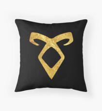 Angelic Rune Throw Pillow