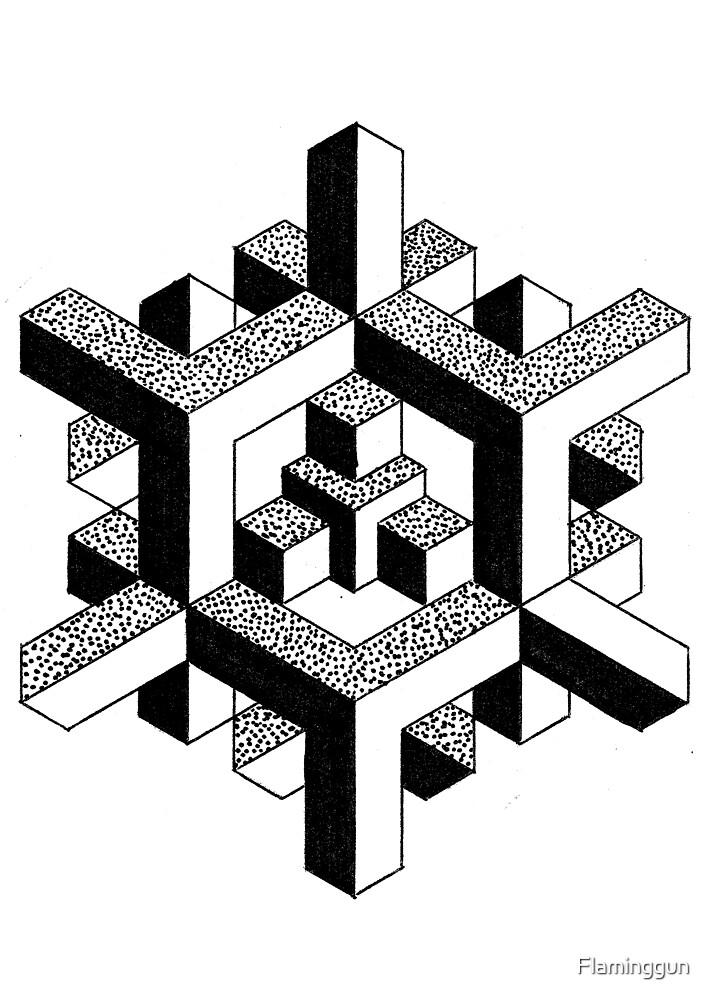 Geometric - Doug Fawkes by Flaminggun