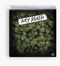 My Kush Weed Purple Haze Cannabis design Floral hemp marijuana Canvas Print